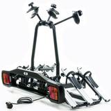 Transbike Suporte Rack P/engate P/3 Bikes Aluminio C/ Sinal