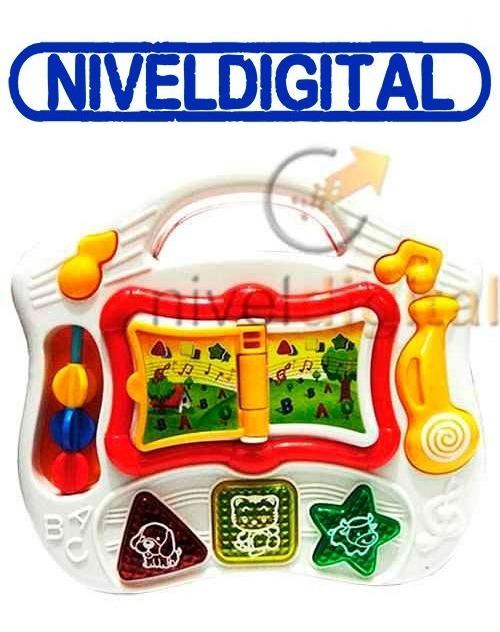 Libro Valija Didáctica En  Ingles Luz Sonido Musica  Caja