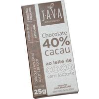 Chocolate 40% Cacau ao Leite de Coco - 25g - Java
