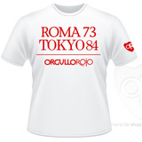 """Remeras Orgullosas """"Roma y Tokyo"""""""