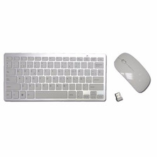 Combo Teclado Mouse Inalambrico Dn-h263 Pc Slim Tv Powerzon