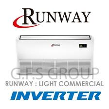 Aire Acondicionado Piso Techo Runway Inverter 18000 F/c 6 Hp