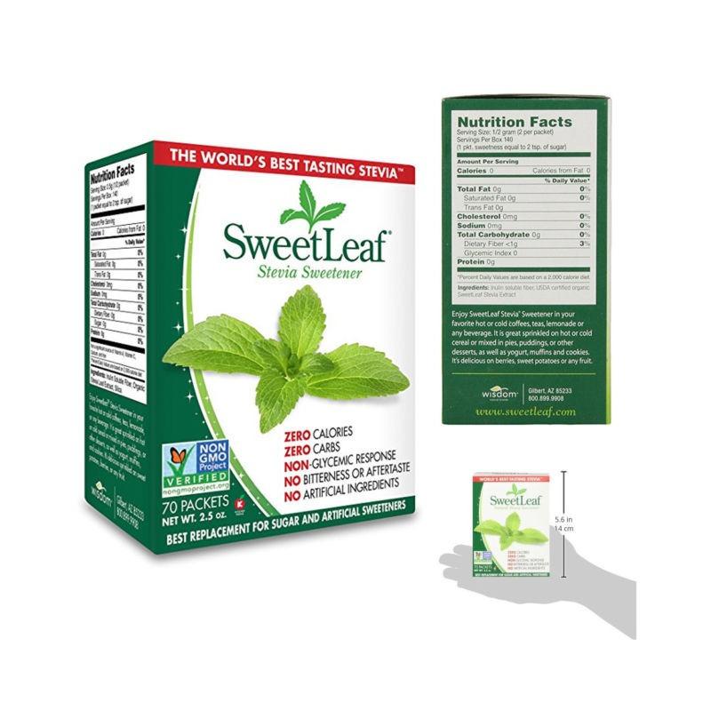 SweetLeaf Adoçante de estévia 4638