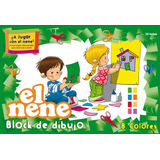BLOCK DE DIBUJO N°5 EL NENE COLOR X 24 HOJAS