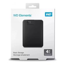 DISCO EXTERNO WD ELEMENTS 4TB USB 3.0 WESTERN DIGITAL OFICIA