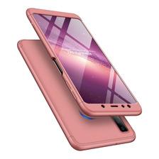 Funda Luxury 3 En 1 Samsung A7 2018 Rigida Antigolpe + Envio