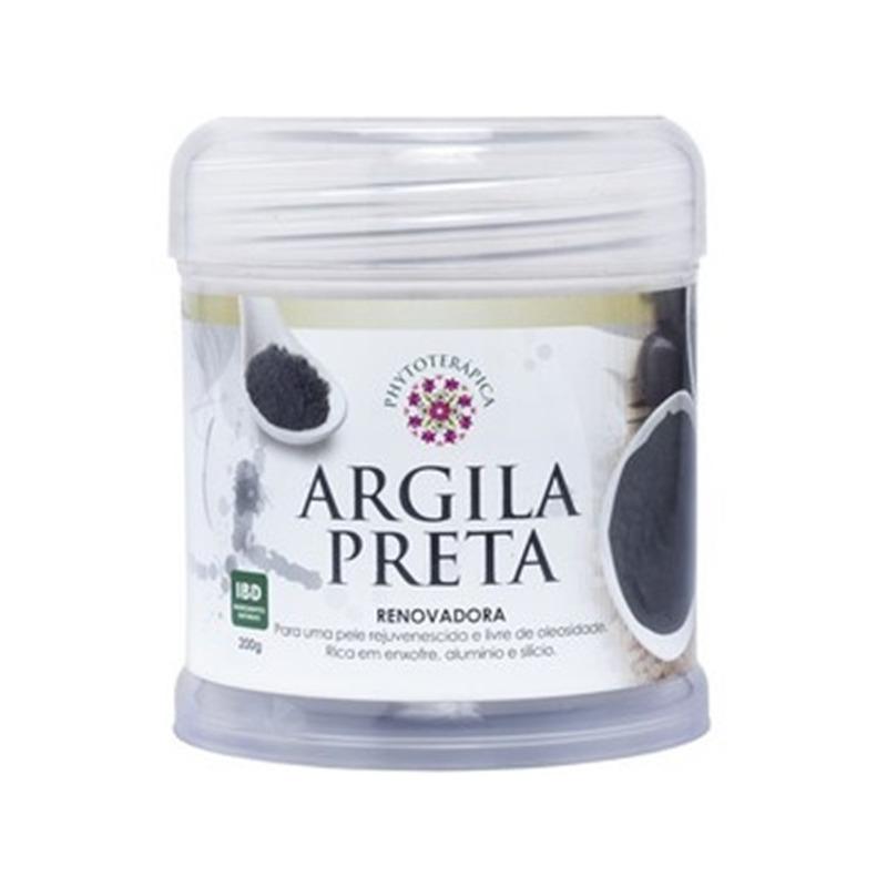 Argila Preta Renovadora (Kaolin) - 200g - Phytoterapica