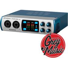 Placa De Audio Presonus Studio 26 Usb 2 Entr/4 Salidas