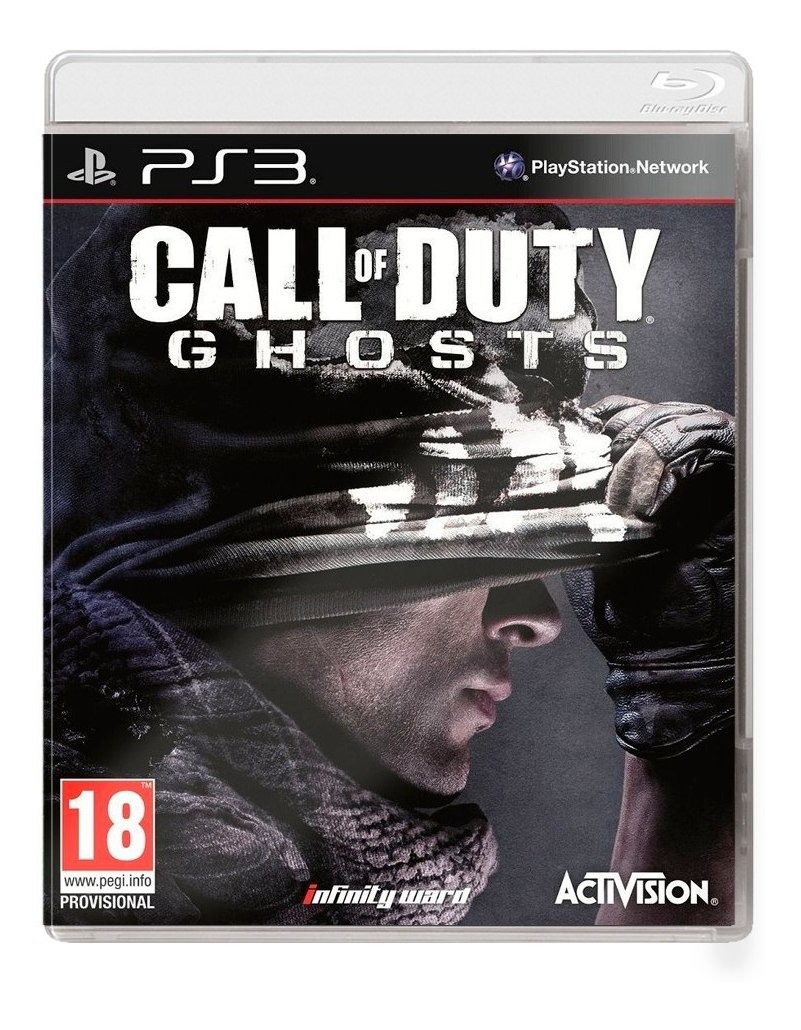 Call Of Duty Ghosts Ps3 Fisico Sellado Nuevo Original