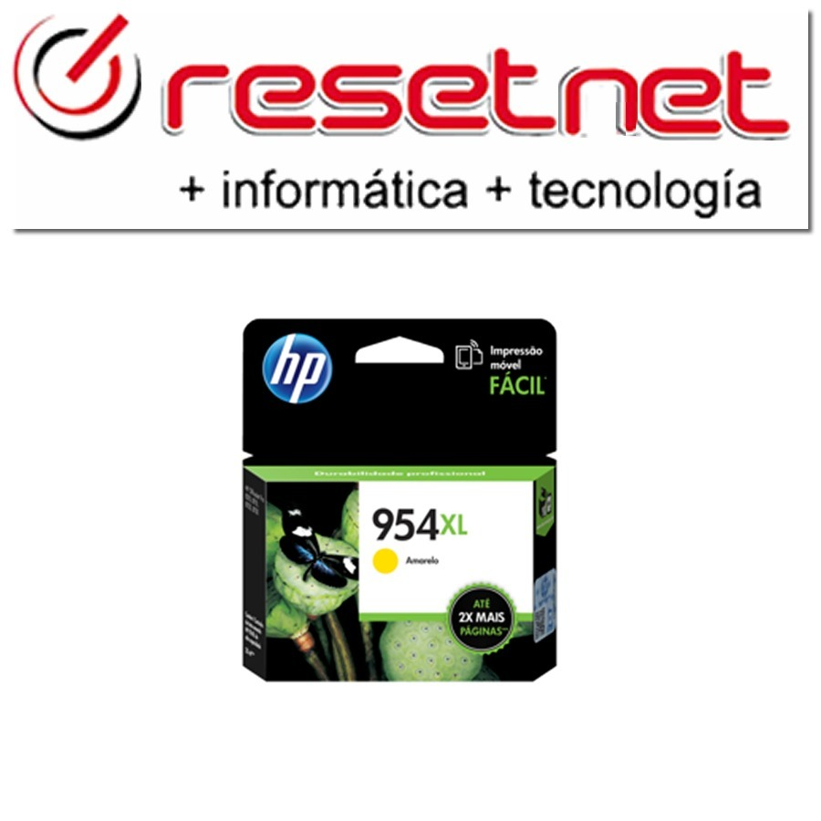 Cartucho Hp 954 Xl Amarillo Original L0s68al 8210 8710 8720