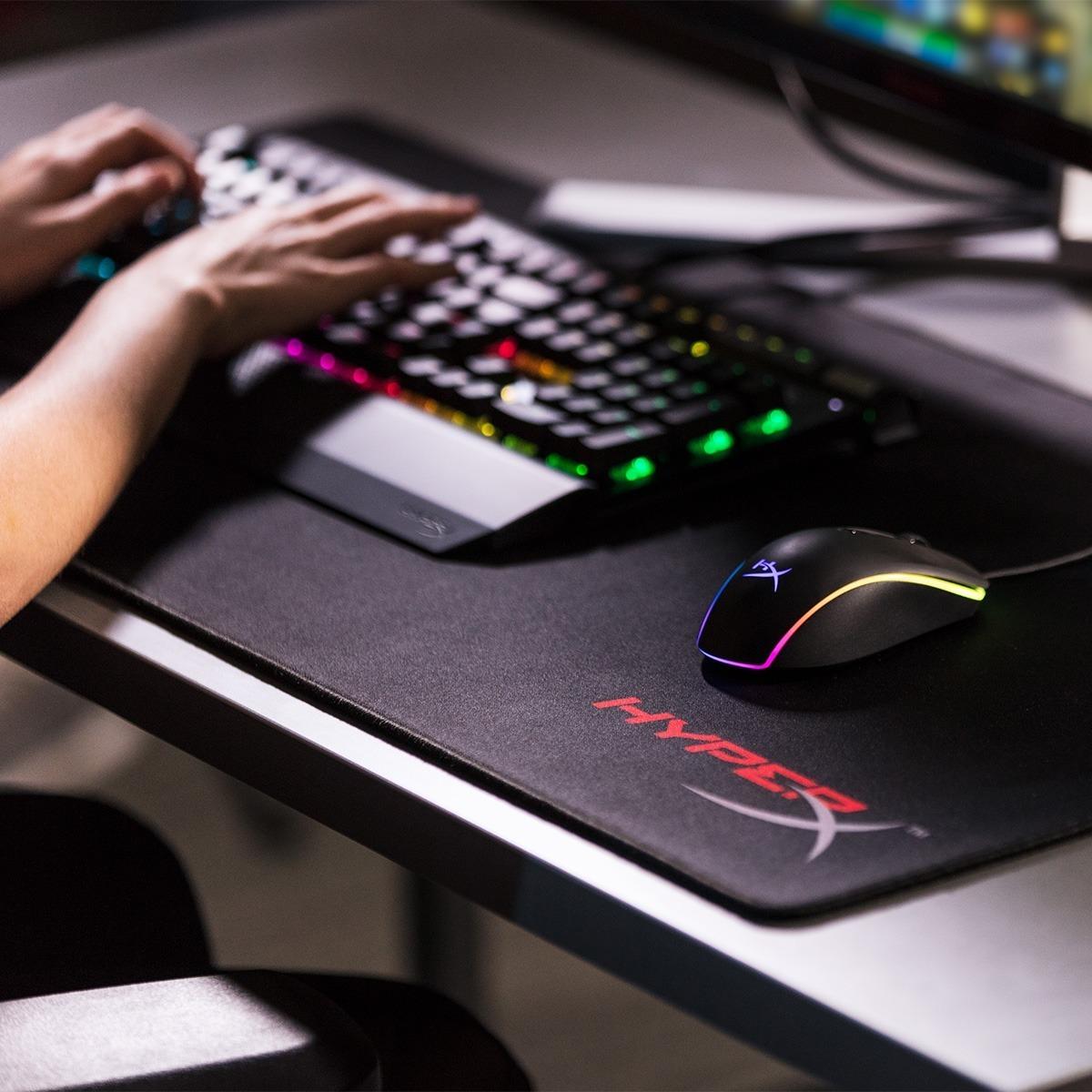 Combo Hyperx Teclado Mecanico Alloy Elite + Mouse Surge Rgb
