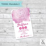 Invitación digital TD006 (Mandala 2)