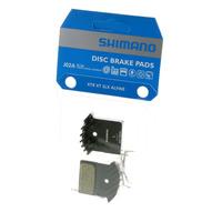 PASTILHA DE FREIO SHIMANO RESINA J02A C/MOLA - ICE TECH - DEORE M6000 / SLX M7000 / XT M8000 / XTR