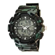 Reloj Digital Analogico X-time Xt012 Sumergible Luz Colores
