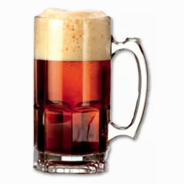 Vaso Chopp Chop Jarra Cerveza Vidrio Crisa Mexico 1 Litro