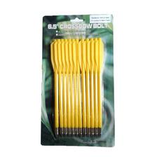 Flechas Plasticas 6 5   X12 - Flechines Ballesta - Arquería