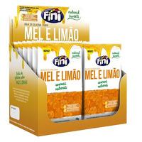 Balas de Gelatina Natural Sweets c/ Mel Limao Cx.12x18g Fini