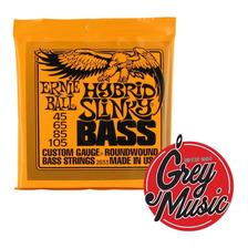 Ernie Ball 2833 Para Bajo 4 Cuerdas 45 / 105 Hybrid Slinky