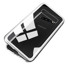 Funda Magnetica Metalica Samsung S7 Edge S8 S9 S10 E Plus