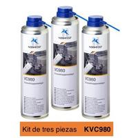 Rheinol Limpiador de Cuerpo de Aceleración Kit 3p de 400ml KVC980
