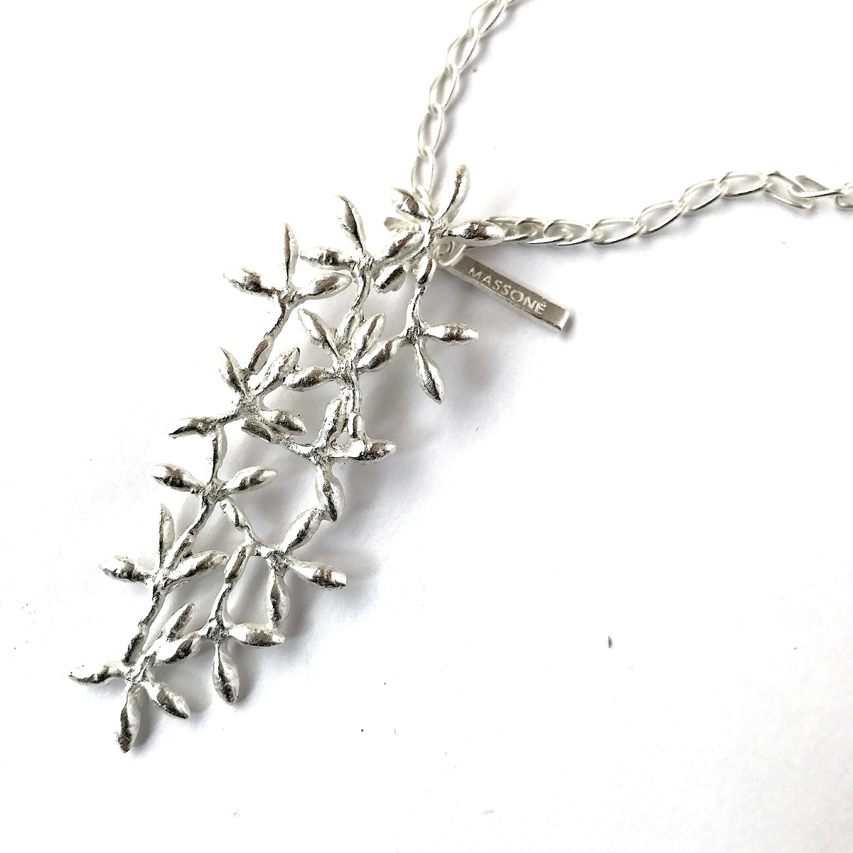 Acacia Collar Dije Flor