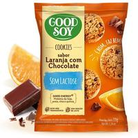 Cookies Integrais Soja Choc. Laranja s/ Gluten 2X16g GoodSoy