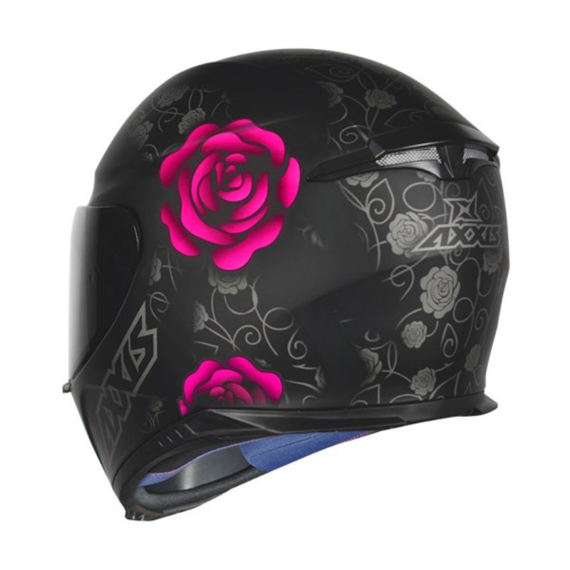 Capacete Axxis Eagle Flowers Fosco