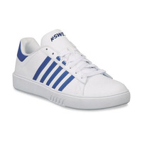 Sneakers K-Swiss blancos con franjas azules K0F221