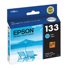 Cartucho Epson 133 Color Cian Original T133220