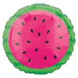 globo fruta sandia 45cm desinflado apto helio