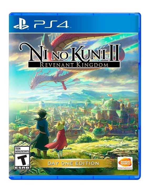 Ni No Kuni 2 Revenant Kingdom Ps4 Fisico Sellado Original