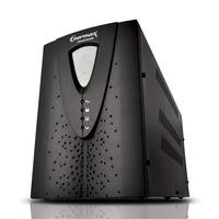 NOBREAK UPS BIVOLT AUTOMATICO/115V 2500VA 4 BATERIAS COM USB ENERMAX PG II GR 22.25.330P-USB