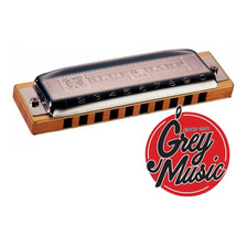 Armònica Hohner Blues Harp C/estuche En Do  C - Grey Music -