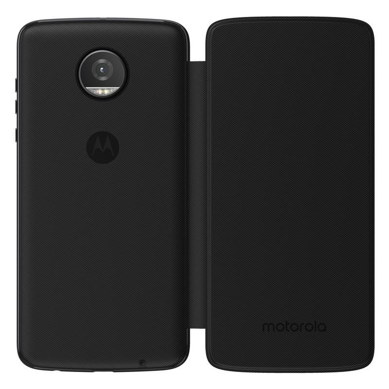 Moto Mod Folio Color Negro Para Moto Z