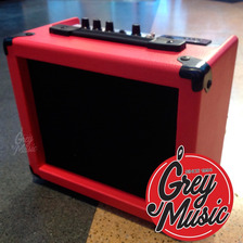 Amplificador Grey Music 15w Rojo Karaoke Pc Usb Sd Mp3