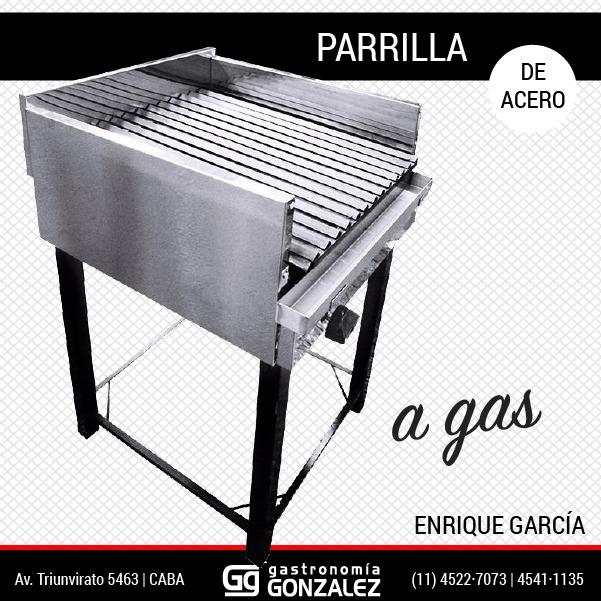 Parrilla 150 Enrique Garcia