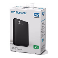 Disco Rigido Externo Western Digital 2tb Usb 3.0 Pc Mac Wd
