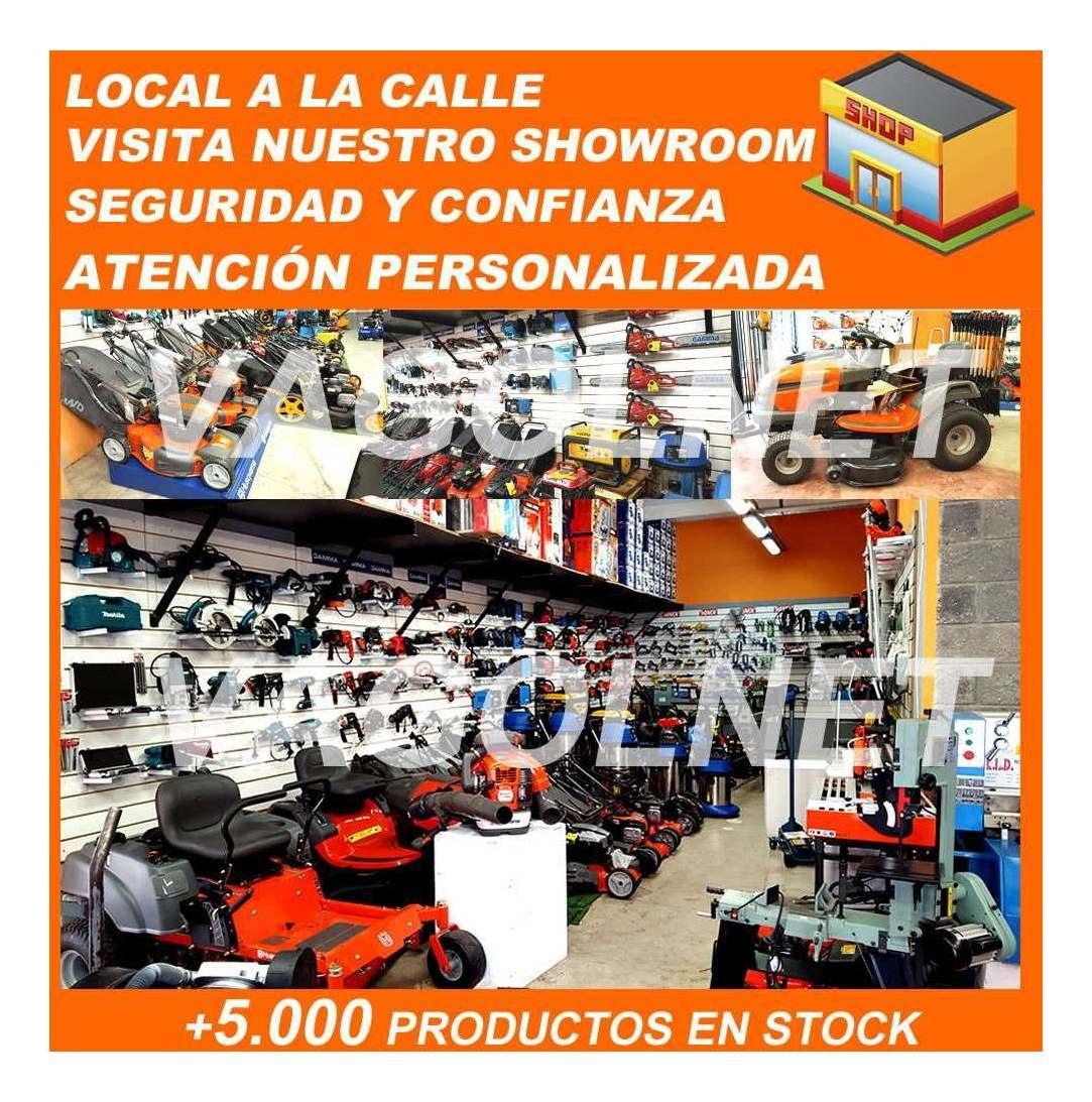 Aspiradora Industrial 2000w 60 Litros Con 2 Motores Gamma