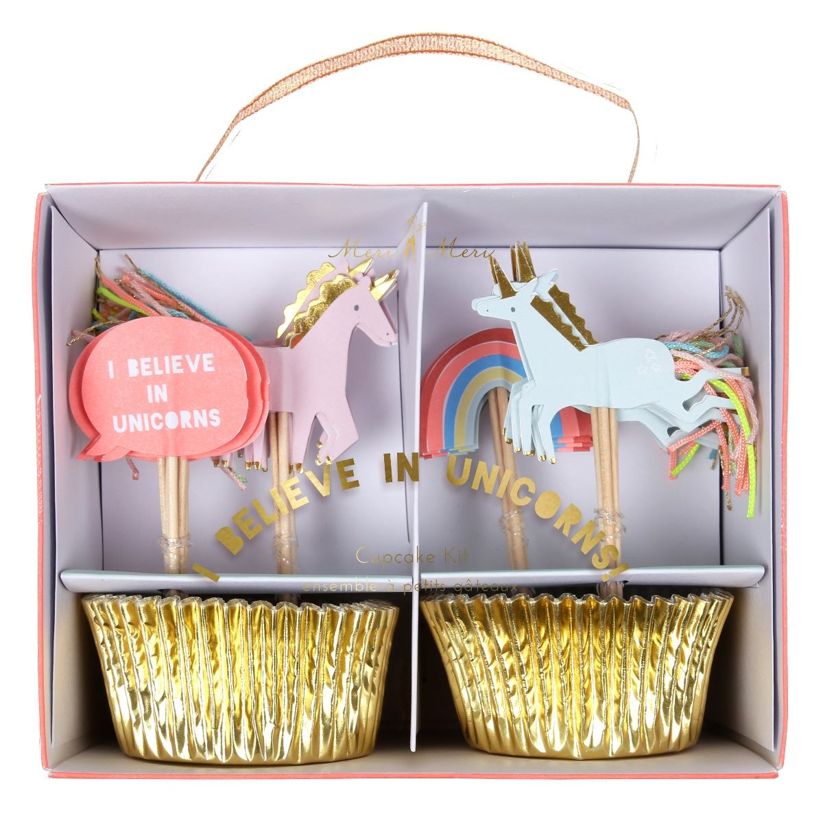 Cupcake Kit - Unicorns and Rainbows