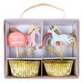 Cupcake Kit - Unicorns and Rainbows