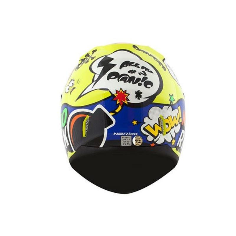 Capacete Norisk FF391 Panic Amarelo