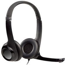Auricular Usb Headset Logitech H390 Micrófono Usb Miniplug