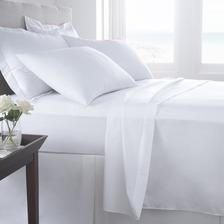 Sabanas 1 1/2 Pl 100 X 200 Algodón Percal Hotelera 180 Hilos