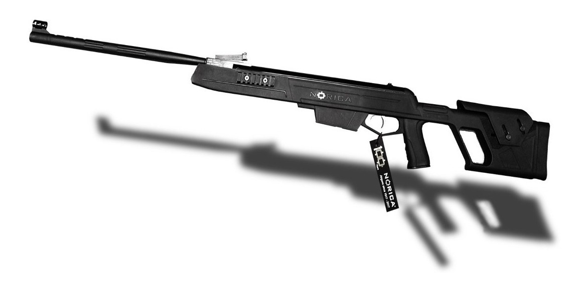 Rifle Aire Comprimido Apolo 1000 Nitro Piston Tactico Caza