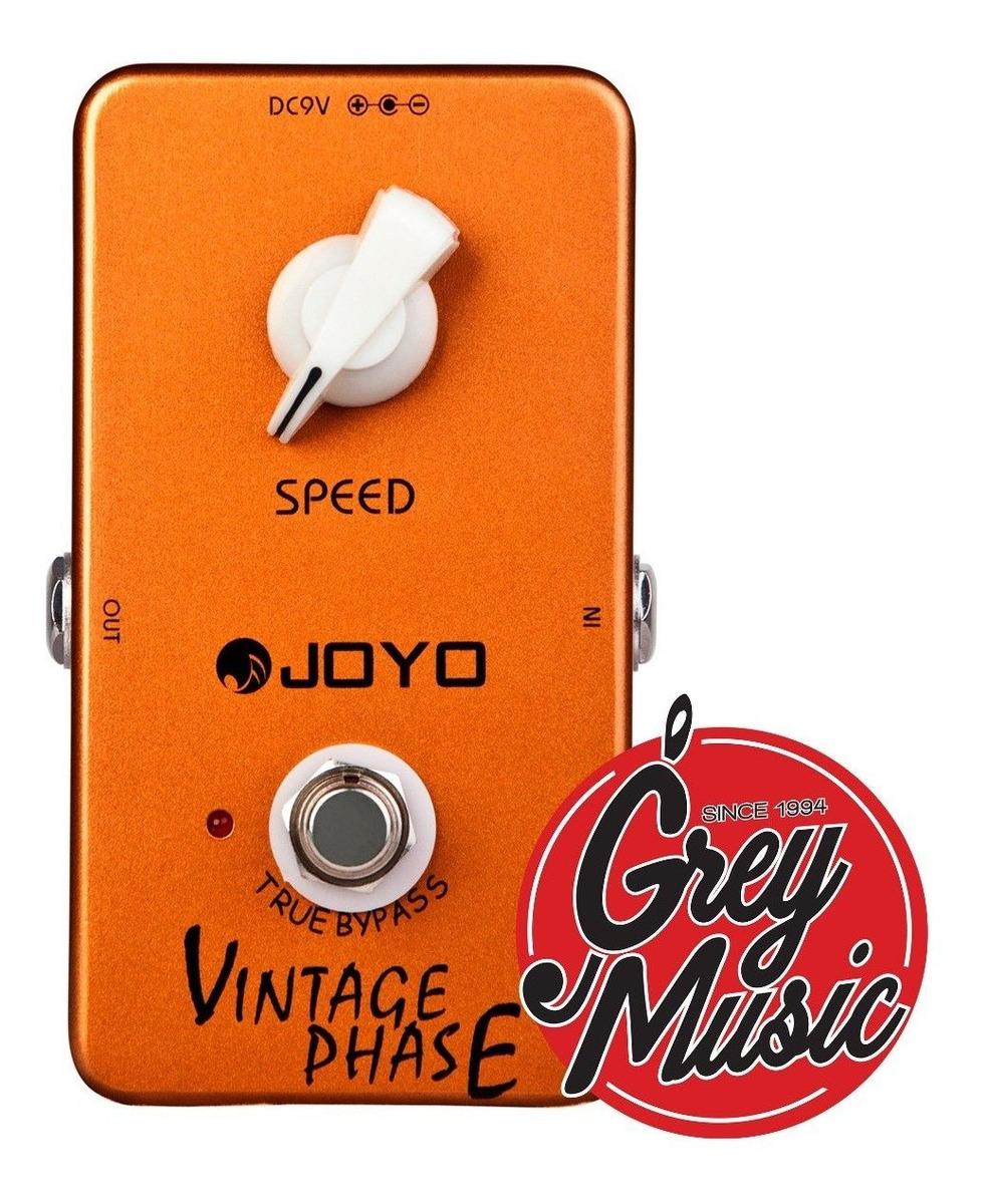 Efecto Pedal De Guitarra Joyo Jf-06 Vintage Phase