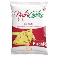 Petisco NutriCookie Picante Sem Gluten - 120g - Nutripleno