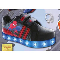 Sneakers Spiderman con luces T03506