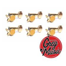 Clavijero Gotoh G-1333-g Para Guitarra Electrica 6l Dorado