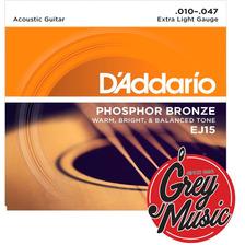 Daddario Ej15 Encordado Para Guitarra Acustica Extra Blandas