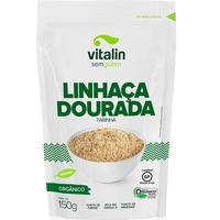 Farinha de Linhaça Dourada Organica - 150g - Vitalin